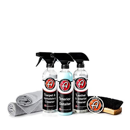 Adam's Essentials Complete Car Detailing Upgraded Kit (Essential Interior Kit)
