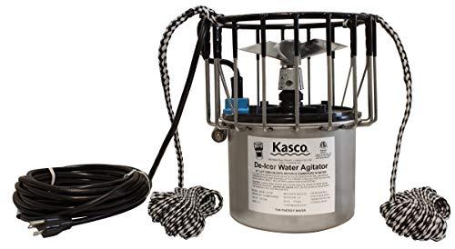 Kasco Marine Deicer ½ HP Lake & Pond De-icer 120V (50Ft Power Cord) Water Deicer for Ponds, Lakes & Dock Bubbler