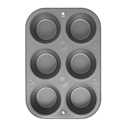 OvenStuff Non-Stick 6 Cup Jumbo Muffin Pan