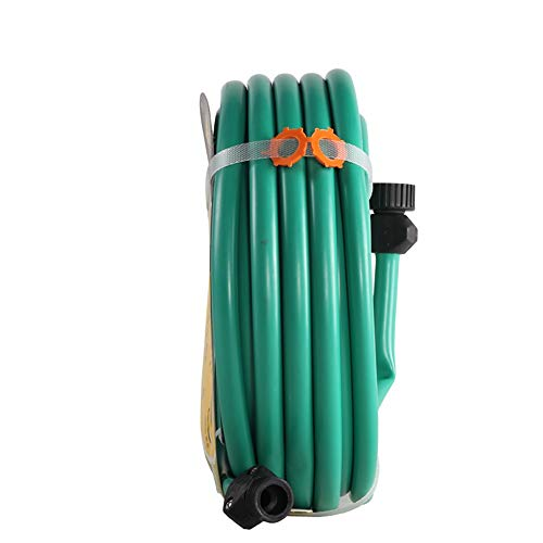 Waterslang HAIYU- 15M PVC flexibele tuinslang, 1/2 Inch buisdiameter, multifunctionele huis Irrigatie slang pijp met standaard aansluitkits