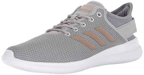 adidas Women's Cloudfoam QT Flex Sneakers, Grey Two/Vapour Grey/Grey Three, 10 M US