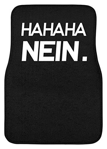 Generieke HAHAHA Nee! Grappig sarkasme motief - eenvoudig en grappig design - automat