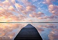 ジグソーパズル1000ピース- Shimaier 川のほとりの景色と湖の風景と海辺の風景ジグソーパズルフェリー 子供の誕生日プレゼント女の子へのサプライズギフト大人のジグソーパズル1000 芸術パズル家の装飾