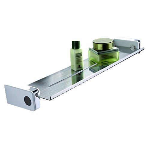 GGCG Badregal, Badregal, Wandwaschprodukte, Kosmetik, Geheimfach, versteckte Verbindung, Edelstahl, 450X104X45mm