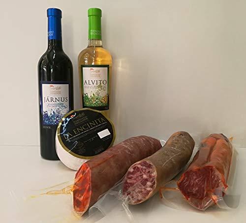 Lote de productos extremeños Sabor de Extremadura