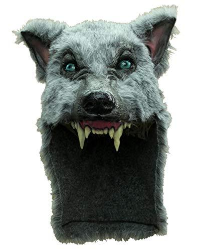 Horror-Shop Werwolf Schamanen Helm