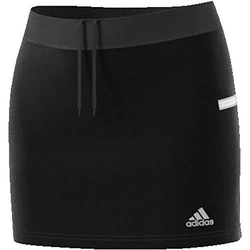 adidas Damen T19 Skort W Skirt, Black/White, XL