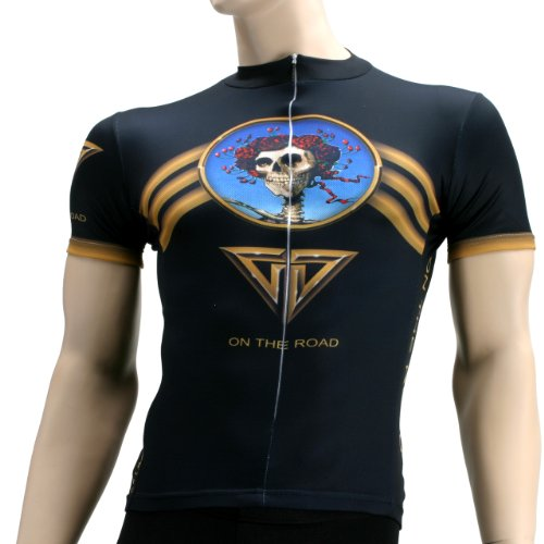 Primal Wear Grateful Dead On The Road Cycling Jersey Men's Short Sleeve