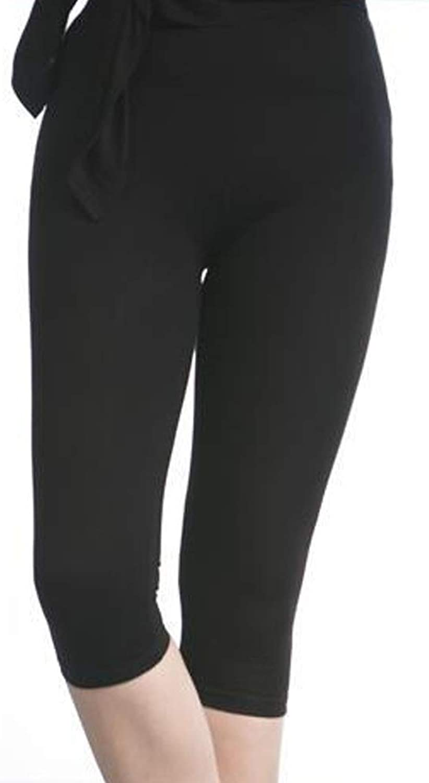 Xiao Jian Dance Pants Female Tight Nine Pants Black Ball Pants Ballet Stretch Seven Pants Dance Practice Pants Black Nine Pants Dancing unifom (color   B, Size   XXL)
