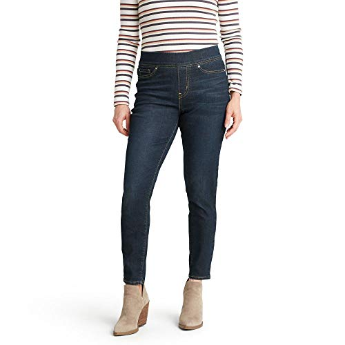 Signature by Levi Strauss & Co. Gold Label Women's Totally Shaping Pull-on Skinny Jeans, Stormy Sky, 2