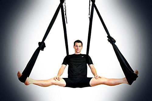 8 Yoga DIY Silk Pilates Premium Aerial Silks Equipment Aerial Yoga Tuch Aerial Silk Elastische Yoga H/ängematte Mit Stoff Zubeh/ör Aerial Yoga Tuch 7 St/ück Set