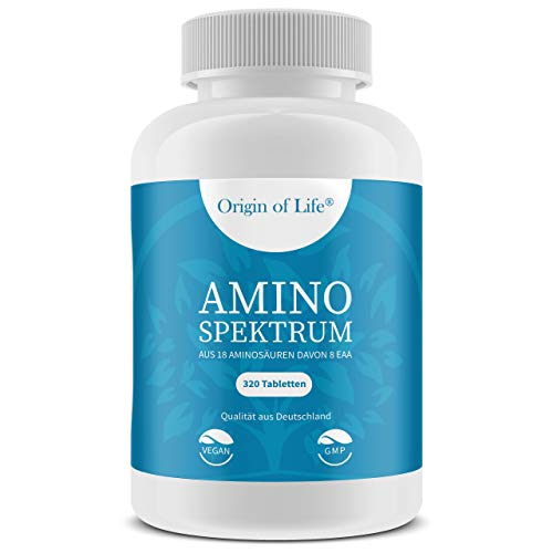 ISS International Sport Supplements GmbH -  AMINO SPEKTRUM - 320