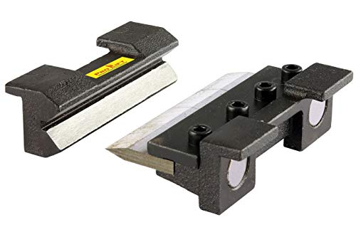 Pro-Lift-Montagetechnik Biegebacken 100 mm Abkantbacken mit Magnet Winkel-Bieger manuell Blechbiegearbeiten Schraubstock Schonbacken