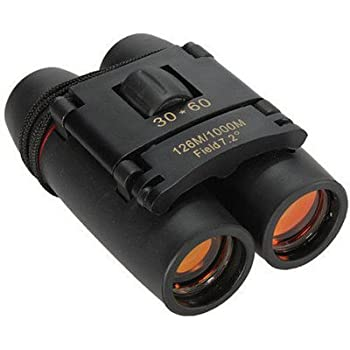 EVALUEMART® 30x60 Foldable with Strap & Pouch- Binoculars(Black)