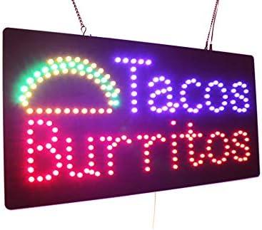 Taco neon sign