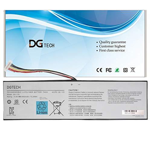 DGTECH GX-17S Laptop Battery Compatible with GIGABYTE AORUS X3 Plus V3 V5, AORUS X5 X5S V5 V6, AORUS X7 V2 V3 V5 V6 (14.8V 73.26Wh)