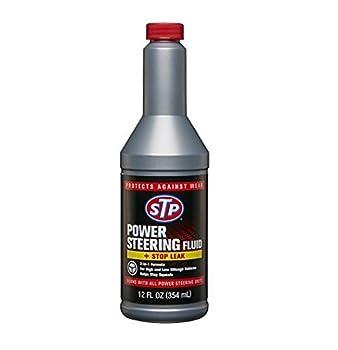 STP 17925 Power Steering Fluid & Stop Leak 12 fl oz  Pack of 4