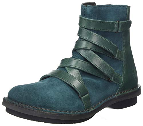 Fly London Damen FELT005FLY Stiefeletten, Green Petrol 005, 40 EU