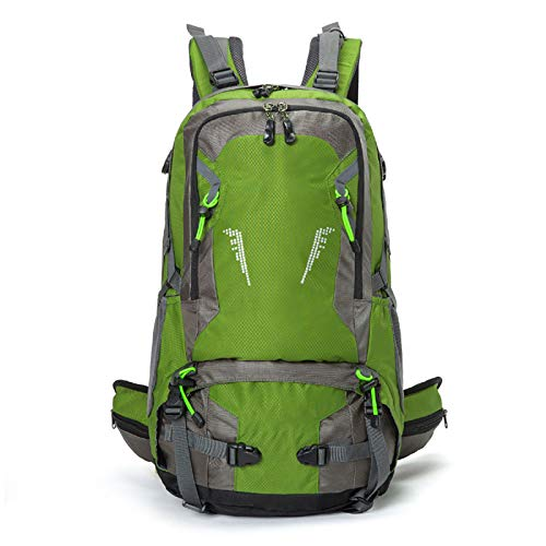 LXXYJ Outdoor Trekking Backpack,Hiking Backpack,Waterproof Camping Backpacking Suitable for Women Men Child Running Cycling Mountaineering Travel,green,40L