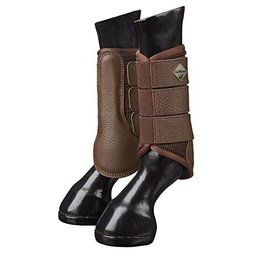 LeMieux Pro Sport Mesh Brushing Boots X Large Brown