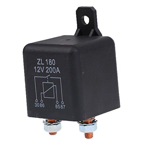 12V/200A Relais Arbeitsstromrelais Schaltrelais 4-pin für Lkw Auto Motorrad