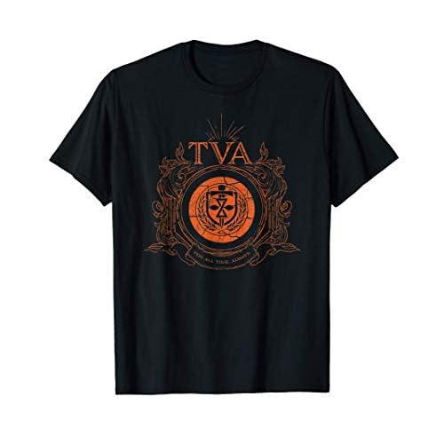 Marvel Loki Time Variance Authority TVA Badge Maglietta