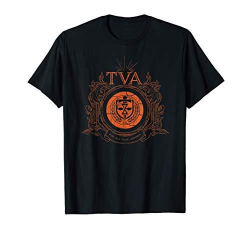 Marvel Loki Time Variance Authority TVA Badge T-Shirt