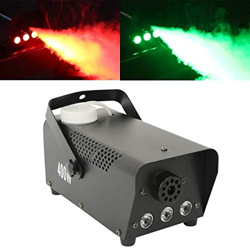 Tengchang 400 WSmoke Fog Machine RGB LED Light Remote Control Stage DJ Party Fogger