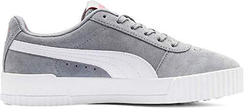 Puma Carina Sneaker Damen, Grau (Tradewinds-Puma White), 38.5 EU