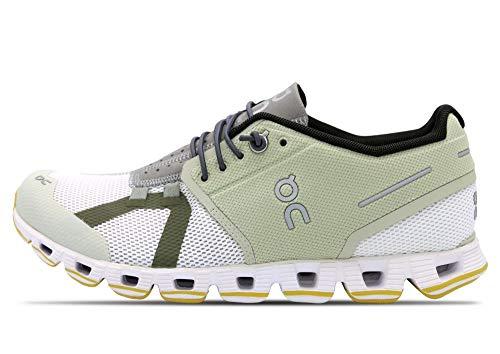 On Running W Cloud 70 30 Grün, Damen Freizeitschuh, Größe EU 38 - Farbe Hay - White