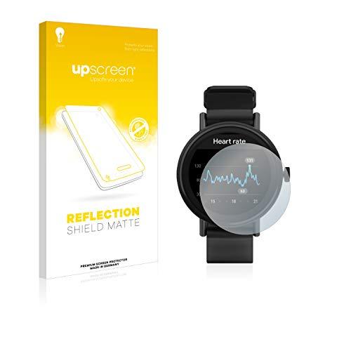 upscreen Entspiegelungs-Schutzfolie kompatibel mit Misfit Vapor 2 (46 mm) – Anti-Reflex Bildschirmschutz-Folie Matt