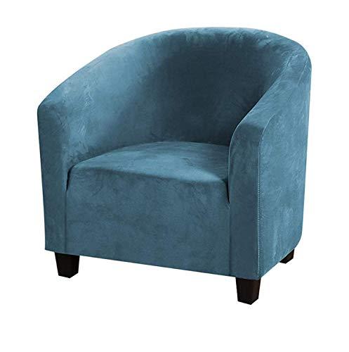 Jonist Funda para Silla de Club, Funda para sillón de Alta Elasticidad, Fundas para sillas de bañera para sillones, Funda para sofá, Protector de Muebles para Barra de Bar, Comedor, Sala de Estar,