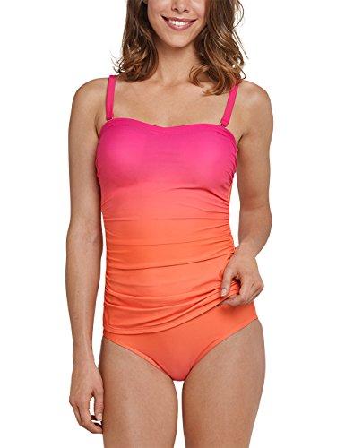 Schiesser Damen Tankini Bikini-Set, Rot (Fuchsia 508), 42 (Herstellergröße: 042C)