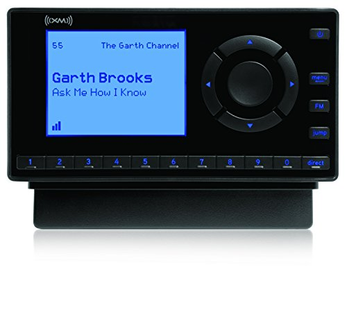 SiriusXM- XEZ1H1 Onyx EZ Satellite Radio with Home Kit- Black