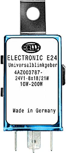 HELLA 4AZ 003 787-071 Blinkgeber - 24V - 4-polig - Anbau - elektronisch - mit Halter