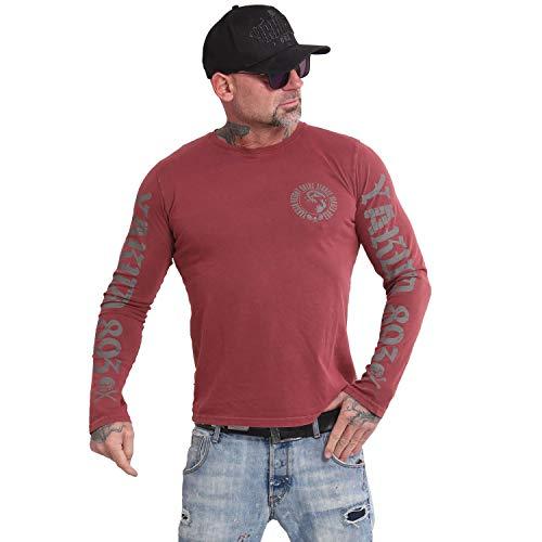Yakuza Herren Vintage Acid Longsleeve T-Shirt