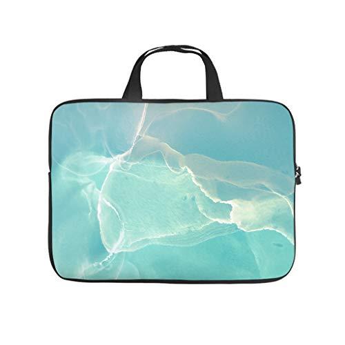 5 tamaños, textura de mármol, bolsas para ordenador portátil, divertidas y reutilizables, maletín para ordenador portátil, adecuado para el trabajo