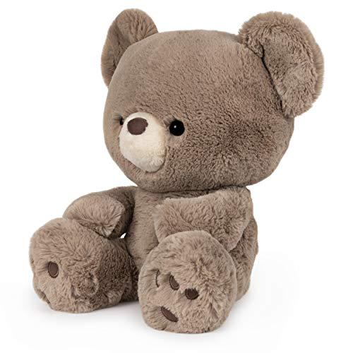 "GUND Kai Teddy Bear Plush Stuffed Animal, Taupe Brown, 12"""