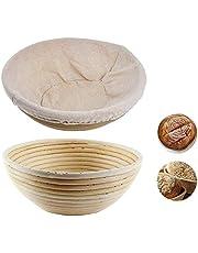 Brood proofing mand Ronde deeg rijzen gisting Bowl voor het bakken van ingrediënten restaurant maat S 1PC