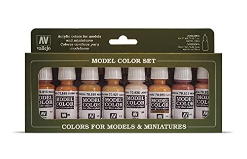 MODEL COLOR SET: Colores Piel – 8 Hobby Colors