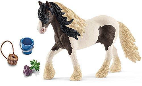 Schleich Farm World Spiel-Set Neuheiten 2017 - Tinker Hengst 13831 mit Pferdefutter 42196