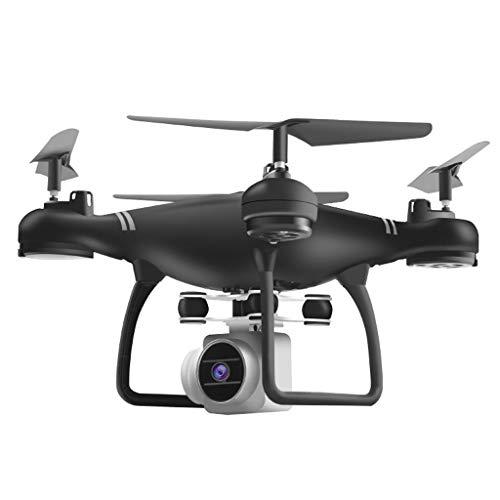 Drone Quadcopter HJ14W , routinfly WiFi Fernbedienung RC Drohne Flugzeug Selfie Quadcopter mit HD-Kamera (Schwarz, 28x28x7cm)