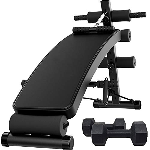 Why Should You Buy Luorizb Home Supine Board, Quick Fold Dumbbell Stool, Multifunctional Assisted Ex...