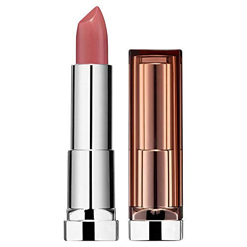 Maybelline New York Make-Up Lippenstift Color Sensational Blush Nudes Lipstick Lust Affair / Kräftiges Rosé mit pflegender Wirkung 1 x 5 g