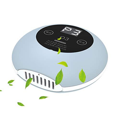 Draagbare luchtreiniger, luchtverfrisser en geurverwijderend luchtfilter, hypoallergeen, rookverwijdering, stofverwijdering, milieubescherming, stil