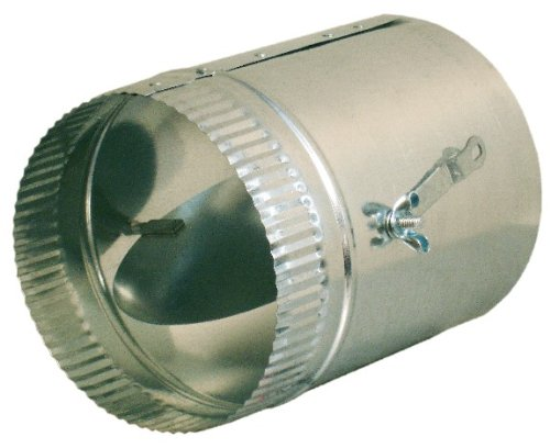 8-in HVAC Duct Manual Volume Damper with Sleeve
