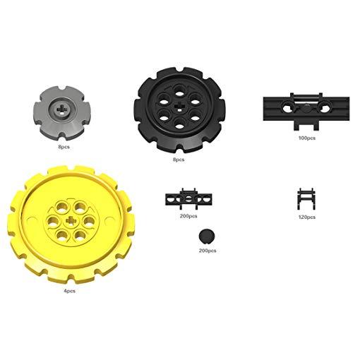 Fujinfeng Technik Teile für Lego, 640 Teile Panzer Crawler Track Teile usw. Technic Teile Einzelteile