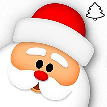 Christmas Tree & Santa Claus Drawing