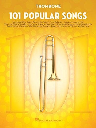 101 POPULAR SONGS: For Trombone (Instrumental Folio