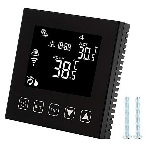 Nicoone Termostato Wifi Controlador de Temperatura de Calentamiento de Agua Inteligente HY603 para El Hogar